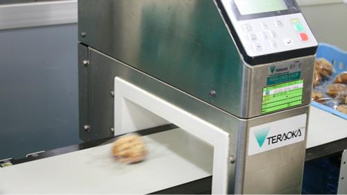 海老屋 食品への責任 金属探知機